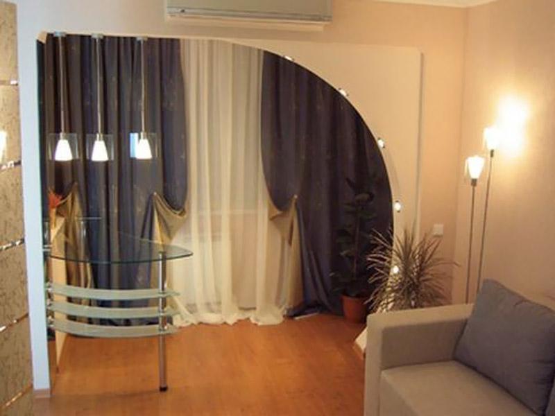 Балкон как часть комнаты / интерьер / балконы / pinme.ru / p.