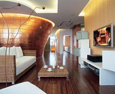 Дизайн потолков кухни столовой