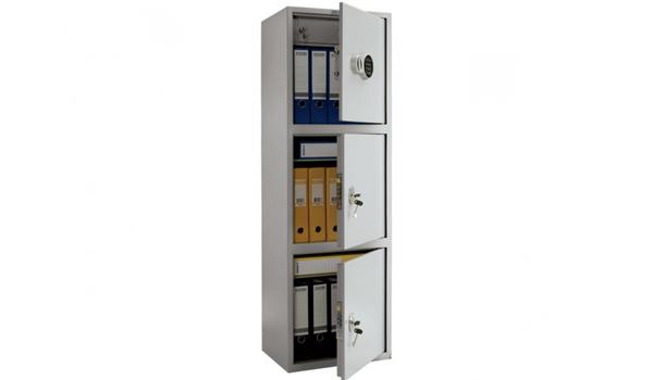Бухгалтерский шкаф - ПРАКТИК SL-150/3Т EL