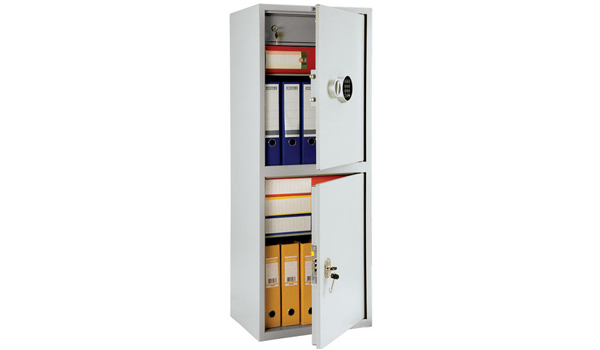 Бухгалтерский шкаф - ПРАКТИК SL-125/2Т EL