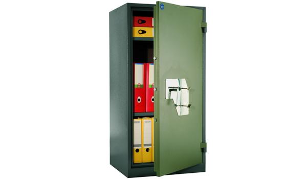 Шкаф огнестойкий сейфового типа для офиса - VALBERG BM-1260KL