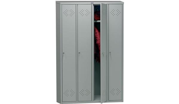 Шкаф для раздевалок - ПРАКТИК LE-41
