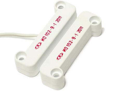 Датчик открытия охранный магнито-контактный СОМК 1-1