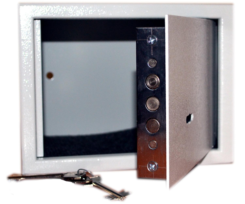 Сейф мебельный IPCOM БС-15К.7035