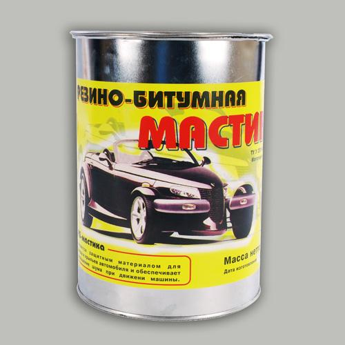 Мастика резино-битумная автомобильная с резиновой крошкой