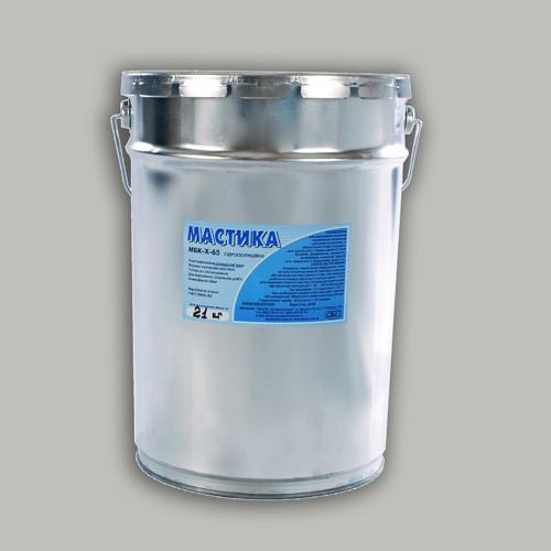 Мастика битумная МБК-Х-65 гидроизоляционная