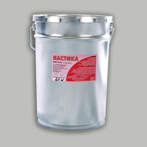 Мастика битумная МБК-Х-65 кровельная с резиновой крошкой