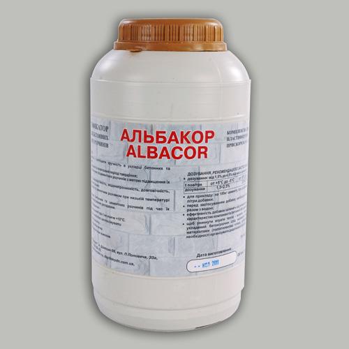 "Пластификатор для бетона ""Alba Cor"""