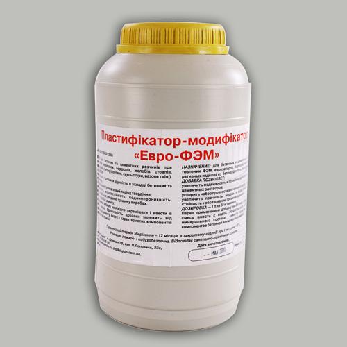 Пластификатор-модификатор «ЕВРО-ФЭМ»