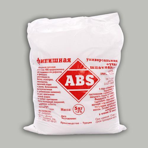 """Шпатлевка сухая """"ABS"""" финишная"""