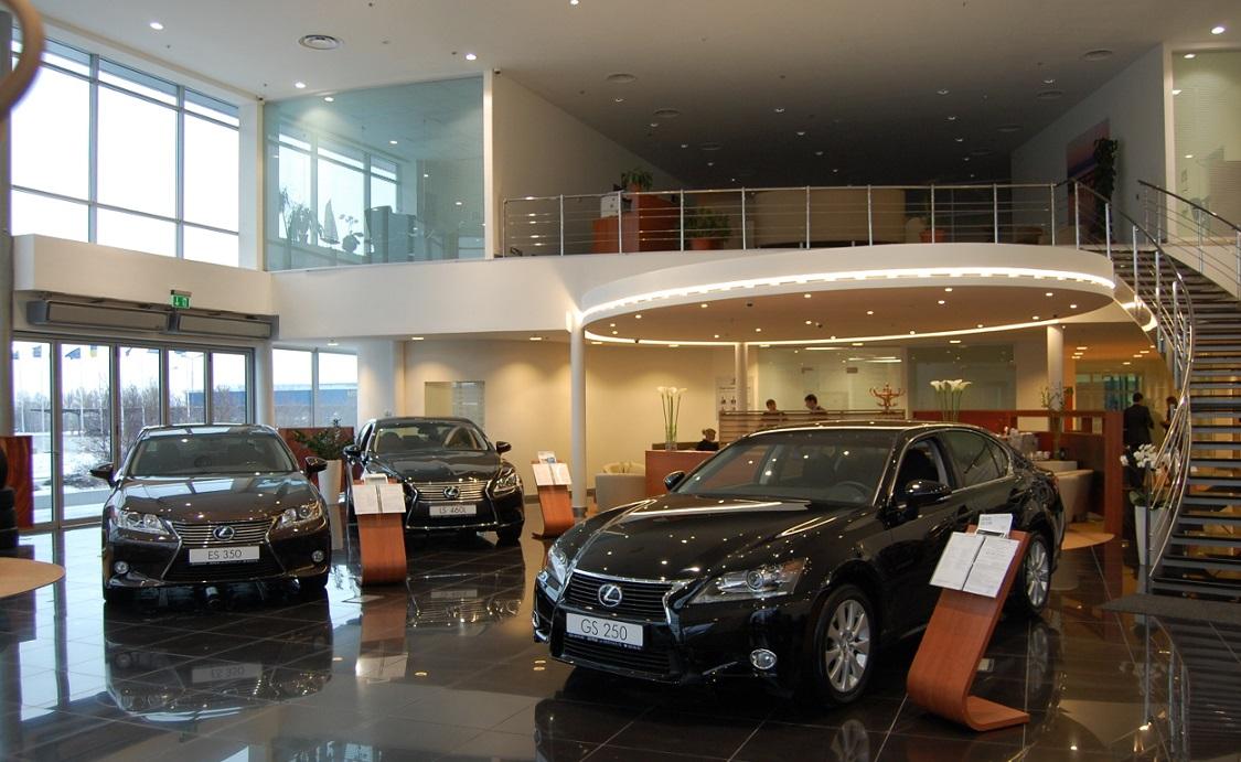 Дилерский центр «Toyota-Lexus»  по ул.Взлетной в Киевском р-не г. Донецк – 9 100 м2. 2012 г.