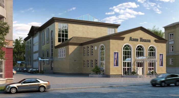 Торгово-развлекательный комплекс «Азов-Плаза». г.Горловка - 8 000 м2.