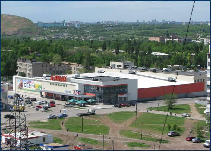 Торговый комплекс «БУМ» г. Донецк - 10000 м2.