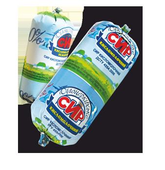 Сир кисломолочний нежирний згідно з ДСТУ 4554:2006