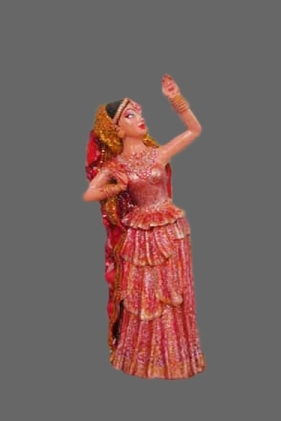 Indian dancing-girl
