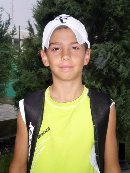 Андреас Аравис - первый киприот на «Большой ракетке»