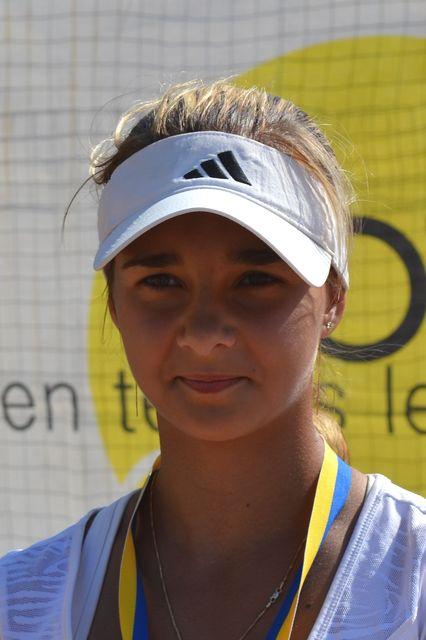 Чемпионка «Янтарной ракетки» Мария Багаденко: «Теннис – это труд и страсть!»