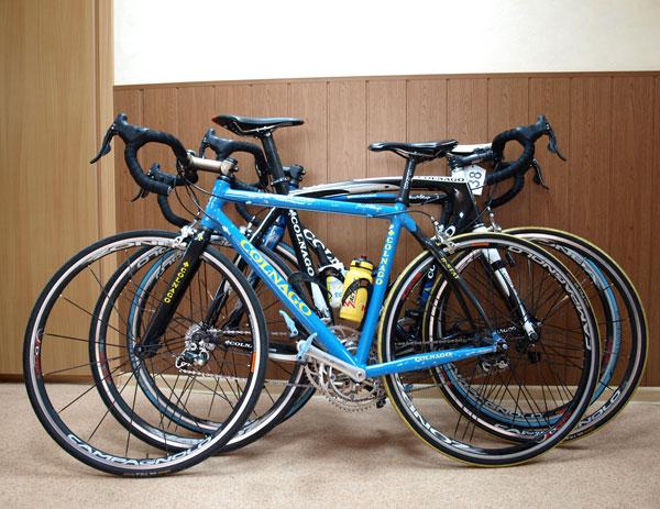 Велосипеды Colnago уже наготове.