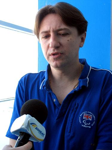 Интервью наставника паралимпийской сборной Украины по плаванию Андрея Казначеева