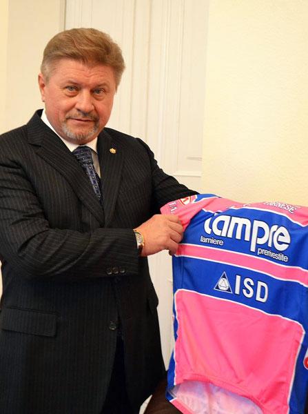 Виталий КОВАЛЬЧУК: «В Lampre-ISD будут новые украинские гонщики»
