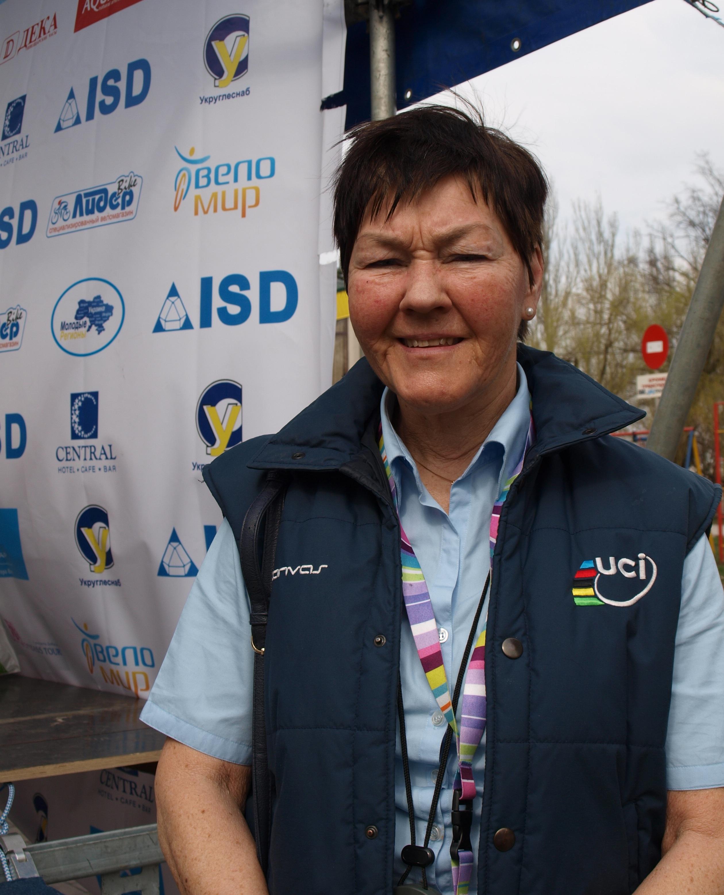 Комиссар UCI Ингер Несс: