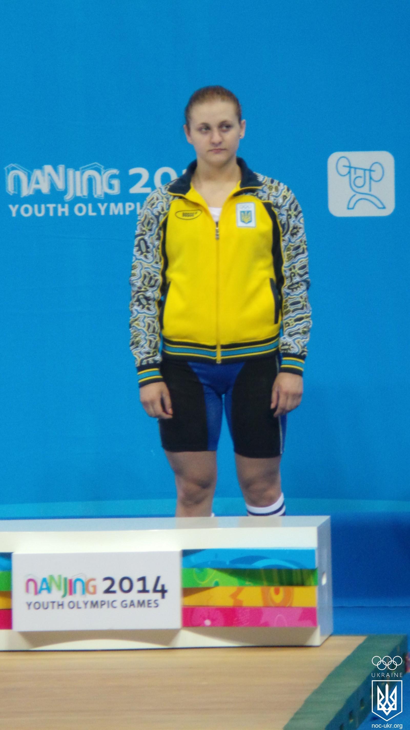 Тяжелоатлетка София Зенченко завоевала для Украины пятую медаль Нанкина