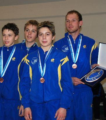 Сборная Украины до 14-ти лет - бронзовый призер Кубка Европы!