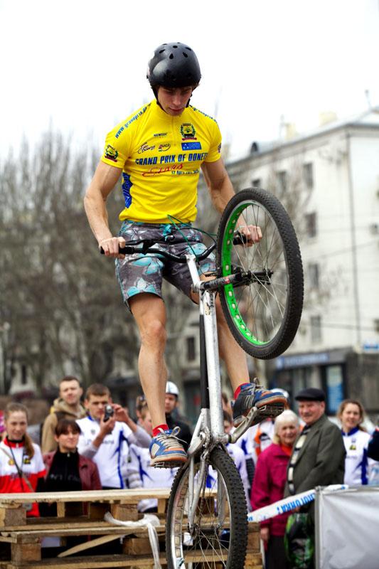 Крути педали! Донецк претендует на звание велосипедной столицы страны