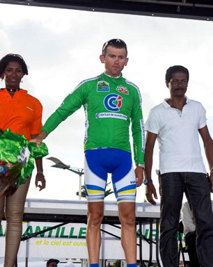 ISD Continental Team стартовала с командного подиума на «Туре Гваделупы»