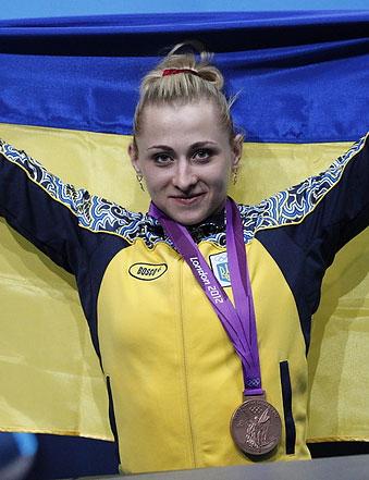 КАЛИНА Юлия (тяжелая атлетика)