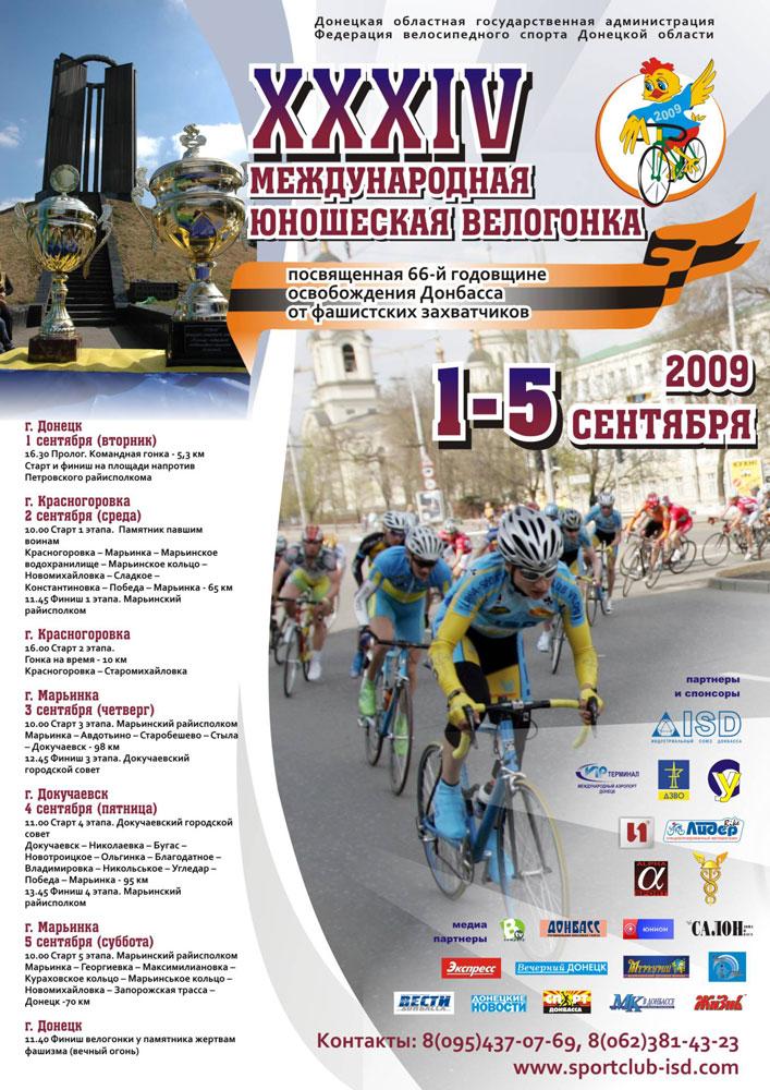 34-я международная юношеская велогонка