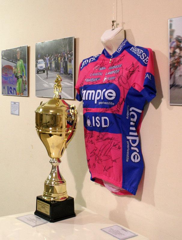 Майка «Тур де Франс» прибыла в «АРТДОНБАСС»! В Донецке открылась выставка «О спорт, ты - мир!»