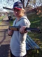 ОХОТСКЯ Алена (стендовая стрельба)