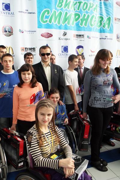 Народные депутаты Украины поддержали турнир на призы Виктора Смирнова