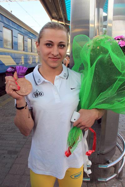 Юлия Калина: «Вышла, подняла и ушла»