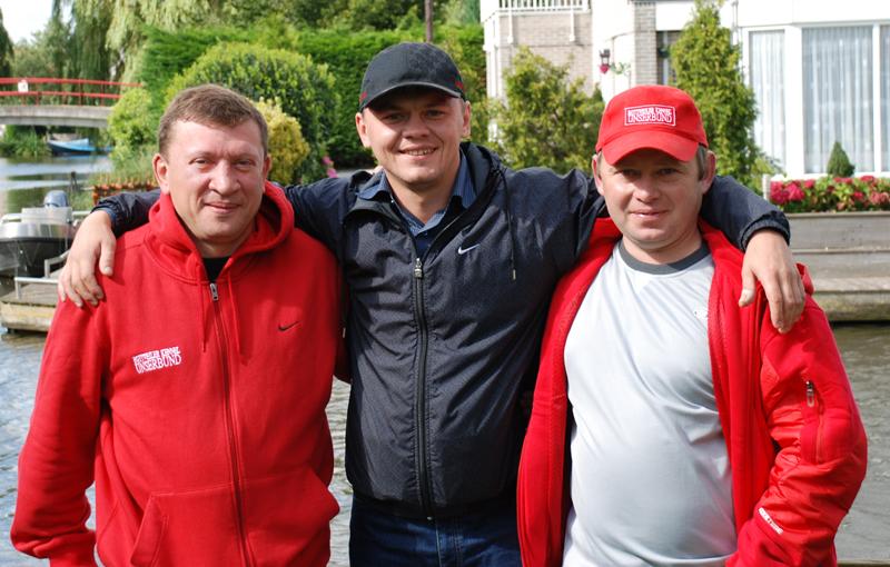 Александр Кулешов и Леонид Феллер