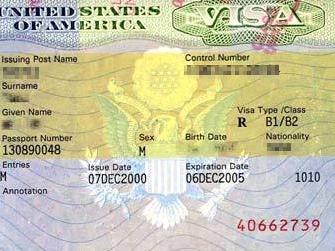 США поднимает стоимость туристических виз