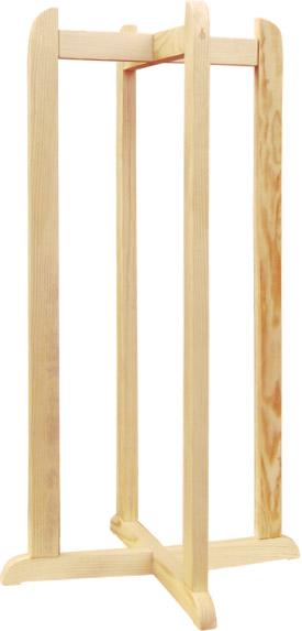 Деревянная для диспенсера высокая натуральная