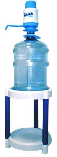 Пластиковая 2-х ярусная с колесиками и без (45см)