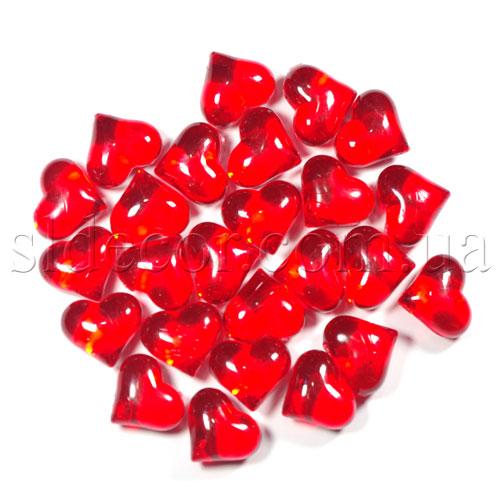 Камни декоративные в форме сердечка