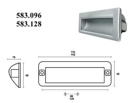 Мебельные ручки REI «583.128»