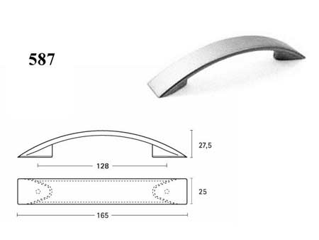 Мебельные ручки REI «587»