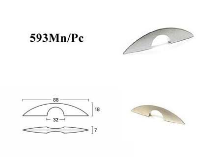 Мебельные ручки REI «593Mn/Pc»