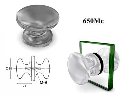 Мебельные ручки REI «650Mc»