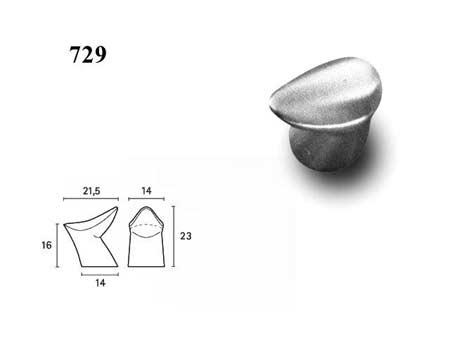 Мебельные ручки REI «729»