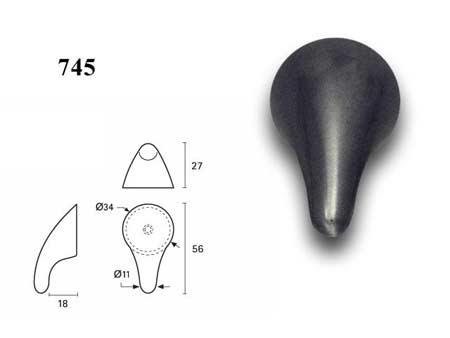 Мебельные ручки REI «745»