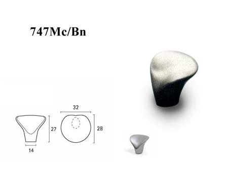 Мебельные ручки REI «747Мс/Вn»
