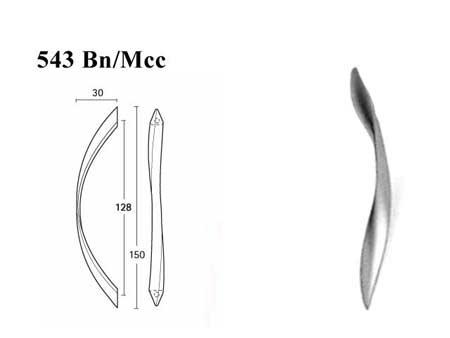 Мебельные ручки REI «543 Bn/Mcc»