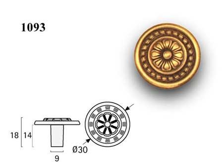 Мебельные ручки REI «1093»