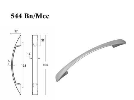 Мебельные ручки REI «544 Bn/Mcc»